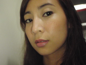 perfect eyebrows,eyeliner,a bit of blush and lipgloss is all i need.. :)