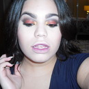 Metallic Gold & Copper | Ombre Lips Makeup Tutorial | Fall Look