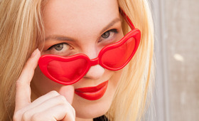 How to Prevent (or Conceal) That Little Red Sunglasses Mark
