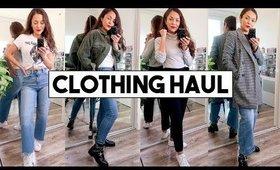 WINTER TRY ON CLOTHING HAUL! Zara, Aritzia, J Crew, Forever 21 - TrinaDuhra