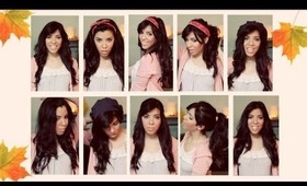 10 Quick & Easy Fall Hairstyles!