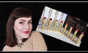 LIP SWATCHES! Max Factor LipFinity Longlasting LipSticks | LetzMakeup