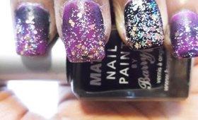 Party nail tutorial - Holiday Nails