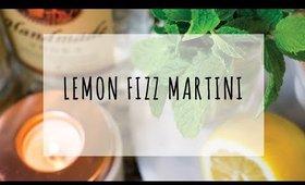 LEMON FIZZ MARTINI