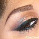 Brown & Light Pink Smokey Eye
