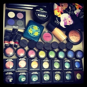 All the limited edition goodies from MAC.