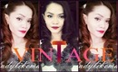 Easy Vintage Style : Hair and Makeup Tutorial