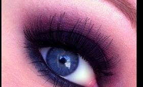 Fall Makeup! Cranberry Smokey eye