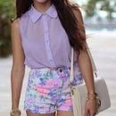purple Flores