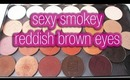Sexy, Smokey Reddish Brown Eyes