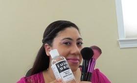 Review: Parian Spirit Brush Cleaner (Rant) @CurlyGirlBeauty