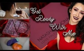 Get Ready With Me  Valentine's Day Edition Ft  Lush & Natasha Denona