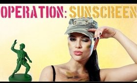 Military Strength Sun Protection w/ Operation Sunscreen Vlog -  Ms Toi