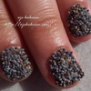 Caviar Manicure with Poppy Seed 2