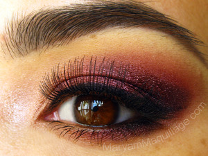 Eye full of Wine for my Valentine http://www.maryammaquillage.com/2012/02/vine-4-my-valentine.html