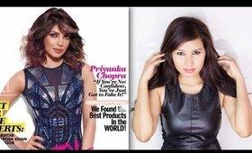 Priyanka Chopra's Cosmopolitan Inspired Makeup Look