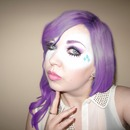 My Little Pony Rarity Inspired Look (open eyes)