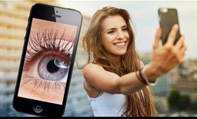 HOW YOUR PHONE CAN TELL IF YOU NEED FALSE EYELASHES OR NOT