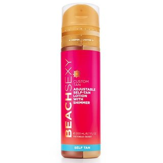 Victoria's Secret Beach Sexy Custom Tan Adjustable Self-tan Lotion with Shimmer