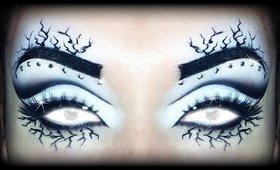 """HALLOWEEN 2014 Makeup Tutorial - Xmen """"Storm"""" ft. BambolaMalefica"""