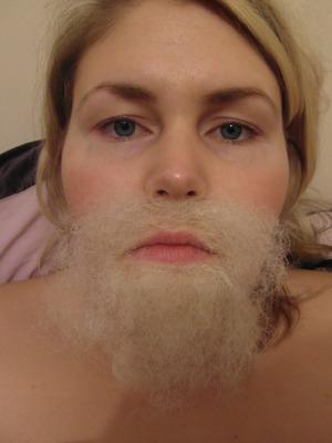 Fx Make up, Application of facial hair