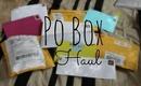 PO Box Haul! #1