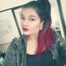 Bold lippy