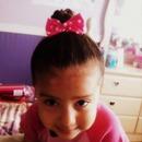 baby girl bun