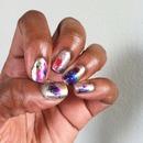 Foil leaf nails