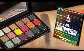 Jeffree Star X Shane Dawson Eyeshadow Swatches! Conspiracy Palette & Mini Controversy Palette!