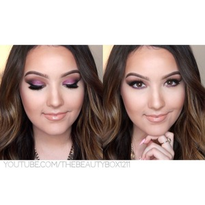 See how I got this look on my YouTube! (TheBeautyBox1211)