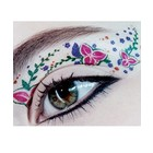Rock Cosmetics EYE ROCK - EYE TATTOOS - FLOWERS