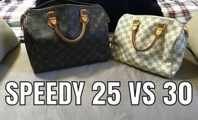 Louis Vuitton Speedy 25 Vs 30