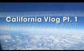 California Vlog Pt. 1 Universal Studios & IMATS