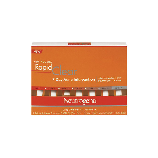 Neutrogena Rapid Clear 7 Day Acne Intervention Kit Beautylish