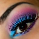 Blue & Purple Look