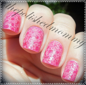 http://www.thepolishedmommy.com/2013/07/neon-pink-sprinkle-flowers.html
