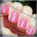 Neon Pink Sprinkle Flowers...
