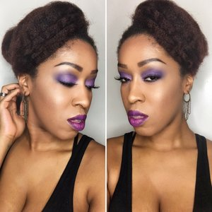 Tonight🔮 #mua #makeup #entrepreneur #lookoftheday #YaniCareproducts #morphebrushes #kinky_chicks1 #myhaircrush #realtechniques #4chairchicks #dallasmua #houstonmua #makeupartist #nyxcosmetics #bhcosmetics #undiscovered_muas #4chairchicks #purple #vividmatte #harjessi #artist #photography