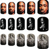 Tupac Shakur Nail Art Decals