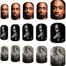 Tupac Shakur Nail Art Decals