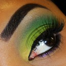 Chartreuse eyes