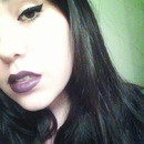 first time trying dark lipstick