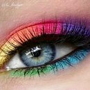 colorful look today