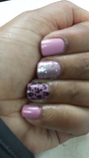 Pink sinful nail color