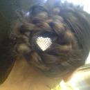 my sisters hair (: