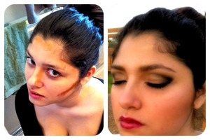 Contouring and highlighting :)