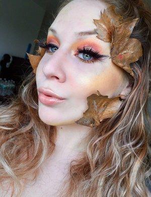 Woodsy vibes! http://theyeballqueen.blogspot.com/2016/10/mythology-autumn-woods-nymph-halloween.html