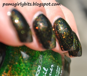 kleancolor golden nightmare and chunky holo clover 5