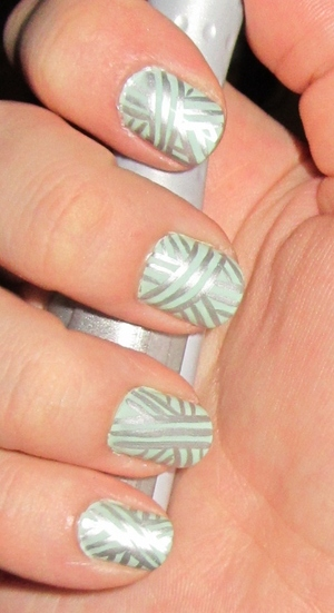 Check out the NOTD at http://rivuletsbeauty.blogspot.ca/2012/03/notd-minted-silver.html   (: